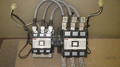 Abb Reversing Contactor Eh 210 300 Amp And Eh 110 200 Amp 120V Coil With Wiring