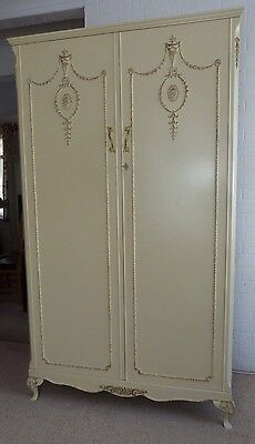 French style Marie Antoinette double wardrobe by Olympus (2 available)