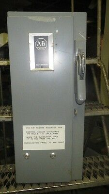 Allen Bradley Combo Starter 30 Amp Size 1 Series N 712-Bab24 480 Coil 71A288