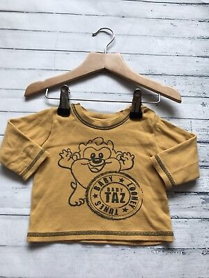Baby Boys Clothes 0-3 Months - Cute Disney Taz  T Shirt Top -