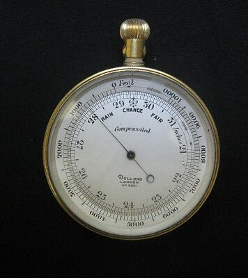 An Antique Barometer / Compass By Dolland - Circa 1870