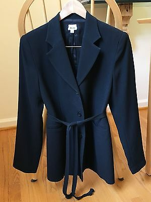 Mimi Maternity Suit Jacket Only Blazer Black Professional Career Business Small