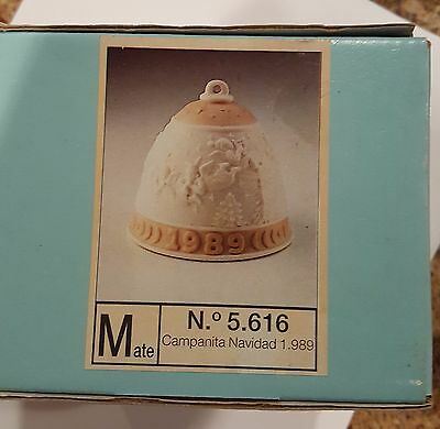 Lladro Christmas Bell - #5616  Dated 1989  (ln original box) - No Reserve