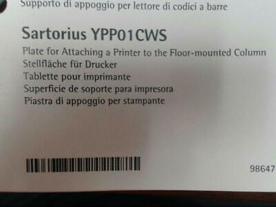Sartorius YPP01CWS Retainer Plate for Attaching Printer to Floor-Mounted Column