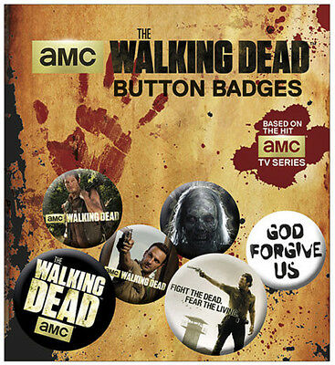 The Walking Dead Buttons and card holder set