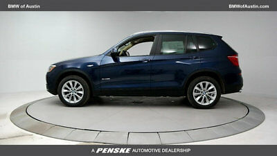 2017 BMW X3 sDrive28i Sports Activity Vehicle sDrive28i Sports Activity Vehicle 4 dr Gasoline 2.0L 4 Cyl DP SEA BLUE MET