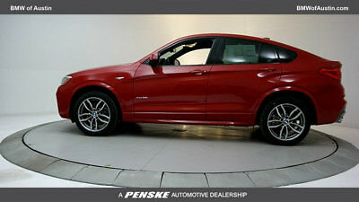 2018 BMW X4 xDrive28i Sports Activity xDrive28i Sports Activity 4 dr Automatic Gasoline 2.0L 4 Cyl Melbourne Red Metal