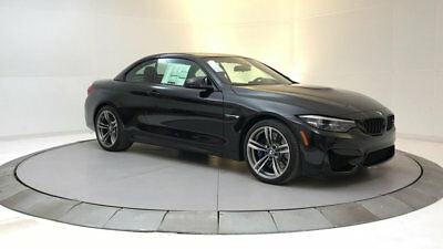 2018 BMW M4  New 2 dr Convertible Manual Gasoline 3.0L STRAIGHT 6 Cyl Black Sapphire Metallic