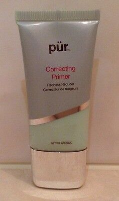 **pur Minerals** Correcting Primer 30Ml - Redness Reducer   Green - Sealed