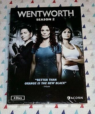Brand New! Wentworth: Complete Season 2. Dvd, 2017, 4-Disc Set. Ships Free
