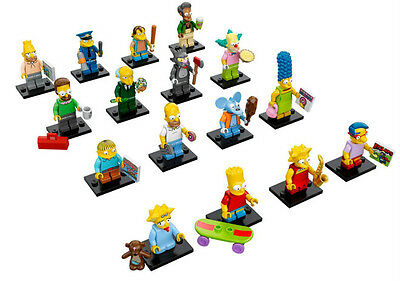Lego New Simpsons Characters Series Minifigs Minifigures 71005 Bart Homer