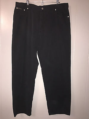 Calvin Klein Jeans Black Cotton Easy Fit Jeans Men's Size 40 X 30