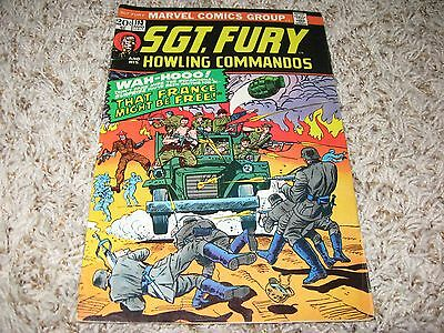 Sgt. Fury #113 (Marvel, 1973) – Howling Commandos – Dick Ayers – FN+
