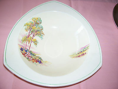 Royal Staffordshire Honeyglaze triangular dish