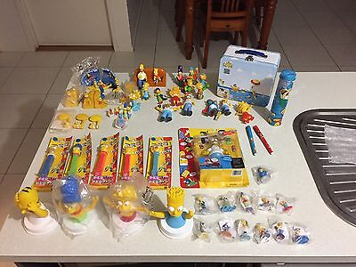 The Simpsons Collectables Vintage Pez figurines figures