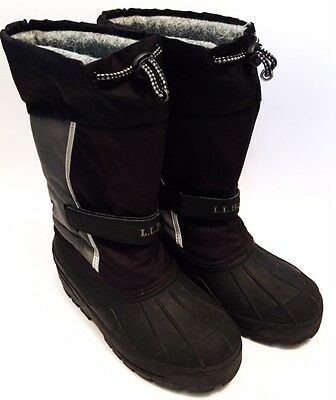 L.L. Bean Boots Shoes Girl Size 4 238064 LL Bean Tumbled Leather Boots Youth