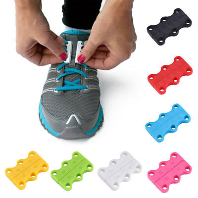 Shoe Buckle Magnetic For Lazy Unisex Shoelaces Adults Kids No Tie Casual Novelty