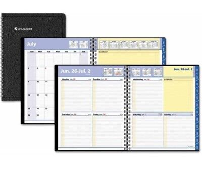 At A Glance AAG761105 8 x 10 in. QuickNotes 13 Monthly & Weekly Planner - Black