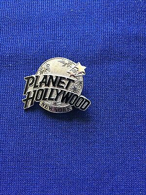 Planet Hollywood New York Silver Toned Theme Restaurant Collector Lapel Pin