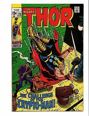 Thor 174 1St Appearance Crypto-Man Kirby & Everett Cover Good Looking Book