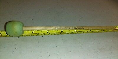 Vintage Holiday House Monroeville Wood Advertising Rare