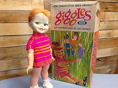 Ideal 1966 Giggles Doll