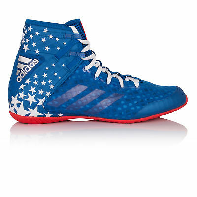 Adidas Speedex 16.1 LTD Mens Red Blue Boxing Training Shoes Boots