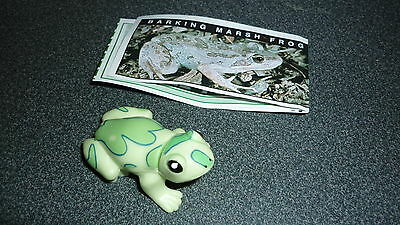 Colectable Australian Yowie Toy With Papers, Barking Marsh Frog