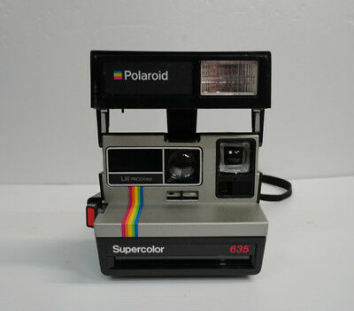 Polaroid supercolor 635 instant film camera