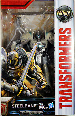 Transformers: Last Knight ~ STEELBANE ACTION FIGURE ~ Deluxe Class