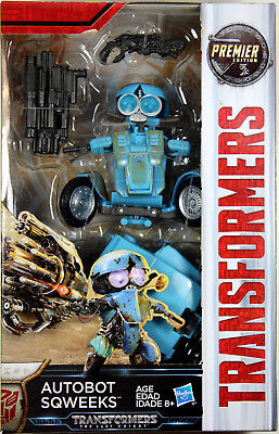 Transformers: Last Knight ~ AUTOBOT SQWEEKS ACTION FIGURE ~ Deluxe Class