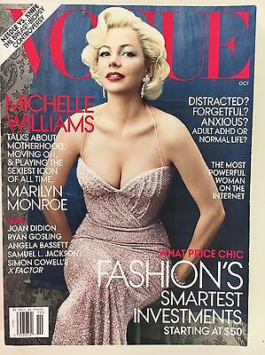 US VOGUE - Oct 2011 - Michelle Williams Cover