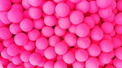 Chocolate Flavour 10mm Bright Pink Fluoro's Carp Fishing Bait Pop Ups
