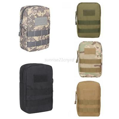 Tactical Molle Belt Pack Camping Hiking Waist Bag Portable Army Military Pouch