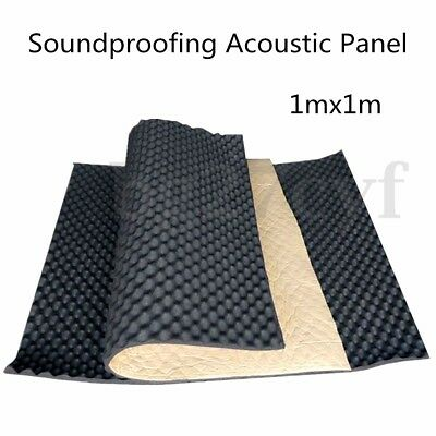 Fireproofing Sound Proofing Acoustic KTV Studio Wall Foam Board Panel Absorption
