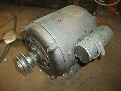 electric motor 230 volt 1/2 HP 1400 rpm