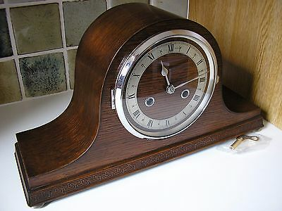 1930's 'JAMES WALKER' – ENFIELD STRIKING MANTLE CLOCK