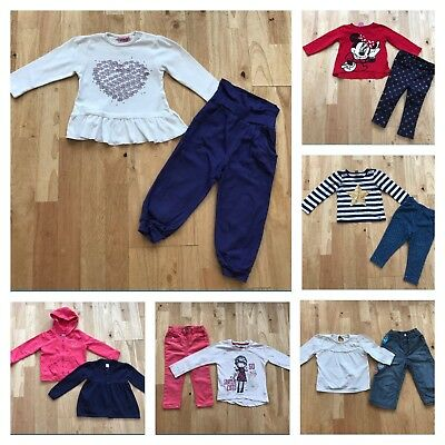 Bundle baby girls clothes age 12-18 months free postage