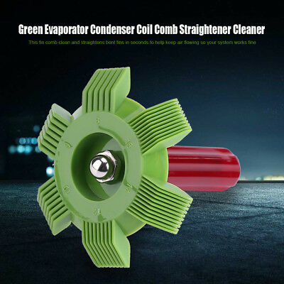 6 in 1 Evaporator Condenser Fin Comb Straightener Cleaner Automotive A/C WD