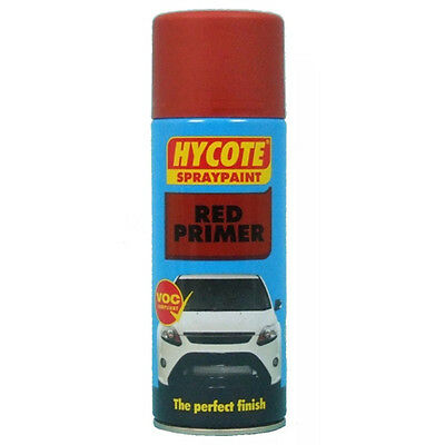 Hycote xuk0303 Red Primer Aerosol Spray Paint 400 ml