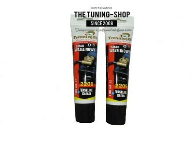 2x Vaseline Grease For Steel Lubricant For Electric Contacts Battery Connections