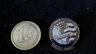 USA NASA Challenger Pin Badge Team Shaw Cleave Ross Spring Walker O Connor