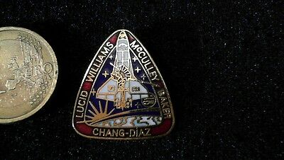 USA NASA Challenger Pin Badge Team Lucid Williams McCulley Baker Chang Diaz