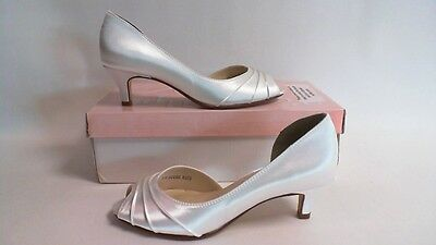 New: Touch Ups Bridal/Evening Shoes - Abby - White - US 6 W - UK 4 #16R332