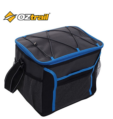 OZTRAIL 24 Can  Collapsible Cooler Picnic Camping Bag Blue