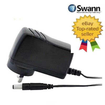Swann General Purpose Camera Power Supply 12V 1AMP 1000m Amp Run Up To 2 Cameras