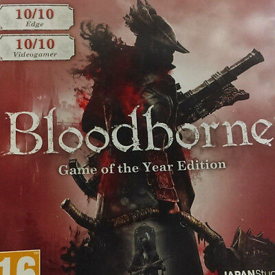 Bloodborne - Game of the Year Edition PlayStation 4 PS4 European Mint Condition