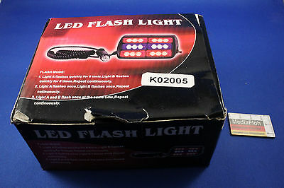 LED Blitzlicht Flash Light 12 V 30 W Warnlicht Warning Light NEU NEW