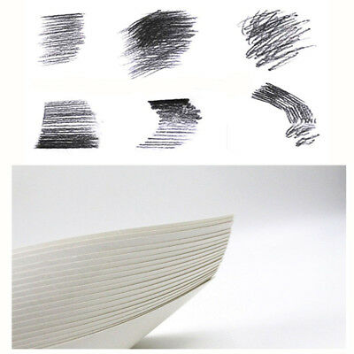 40 Pcs/Set White Paper Painting Sketch Sketch Paper Art Supplies Drawing Paper