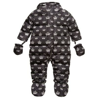 Dolce And Gabbana Baby Crown Snowsuit 18-24 Months